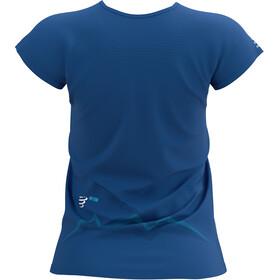 Compressport Training SS T-Shirt Mont Blanc 2021 Women, azul
